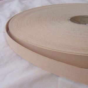 18mm Beech (Steamed) Iron On Wood Veneer Edging