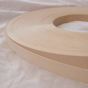 18mm Beech (White) Iron On Wood Veneer Edging