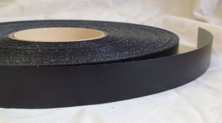 22mm Black Ash Iron On Melamine Veneer Edging