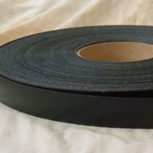 22mm Black Gloss Iron On Melamine Veneer Edging