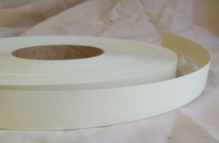 22mm Ivory On Melamine Veneer Edging