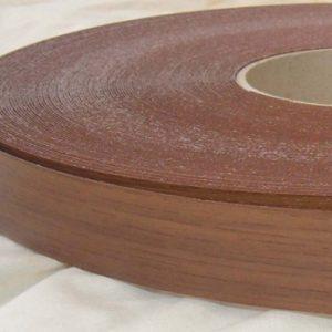 22mm Walnut Iron On Melamine Veneer Edging