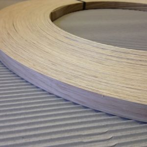 22mm x 1mm American White Oak Unglued Thick Wood Veneer Edging