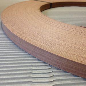 22mm x 1mm Sapele (Mahogany) Unglued Thick Wood Veneer Edging