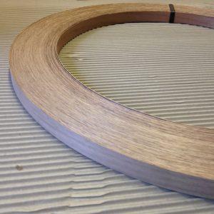22mm x 1mm Walnut Unglued Thick Wood Veneer Edging