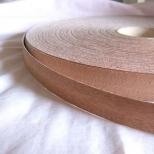 30mm Mahogany Iron On Wood Veneer Edging