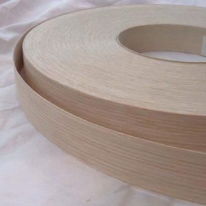 40mm American White Oak Iron On Wood Veneer Edging