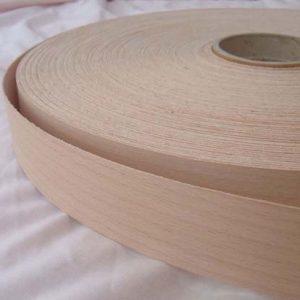 40mm Beech (Steamed) Iron On Wood Veneer Edging