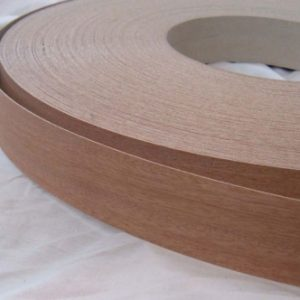 40mm Mahogany Iron On Wood Veneer Edging