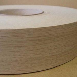48mm Light Ferrara Oak Iron On Melamine Veneer Edging