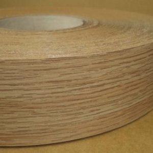 48mm Natural Oak Iron On Melamine Veneer Edging