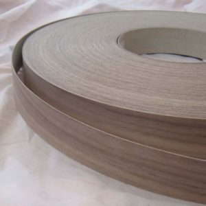 50mm American Black Walnut Iron On Wood Veneer Edging