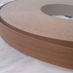 50mm Mahogany Iron On Wood Veneer Edging