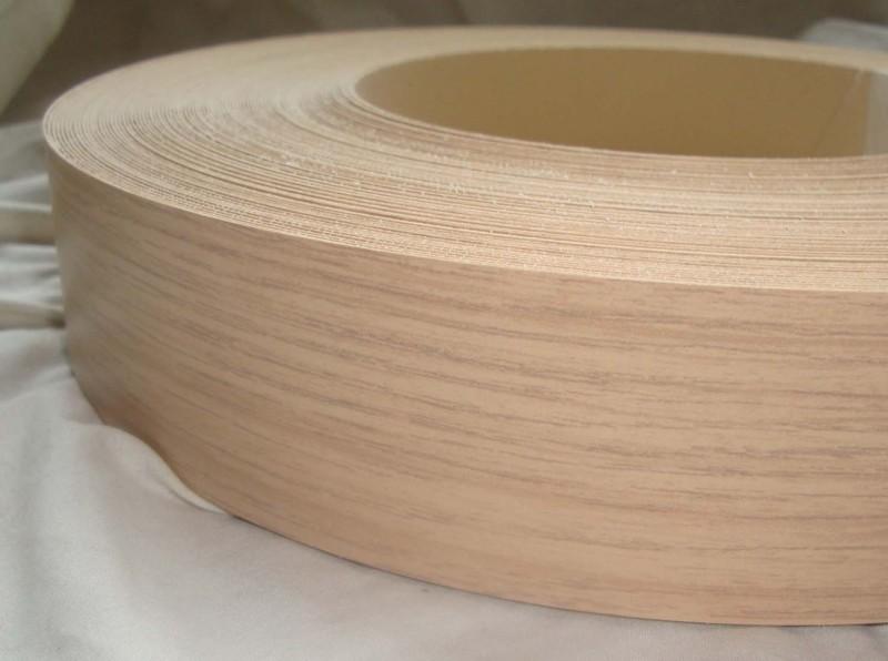 Teak Iron on Edging Pre Glued Wood VeneerTape 40mm wide Various Lengths