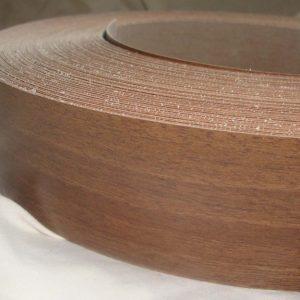 50mm Walnut Iron On Melamine Veneer Edging