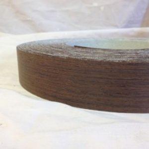 50mm Wenge Iron Iron On Wood Veneer Edging