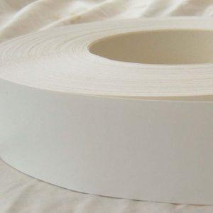 50mm White Iron On Melamine Veneer Edging