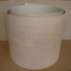 Unglued American White Oak Wood Veneer 100mm Wide